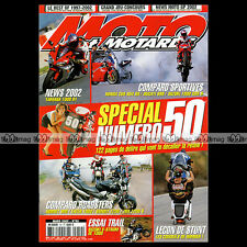 MOTO & MOTARDS N°50 YAMAHA YZF 1000 R1 FZS FAZER SUZUKI DL 1000 V-STROM 2002