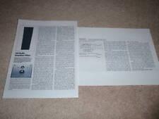 AR AR-9LS Speaker Review,1983, 2 pgs, Full Test, Specs, Info