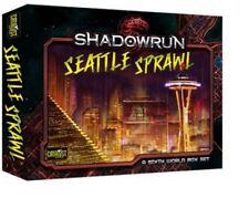 Shadowrun 5th Edition RPG - Seattle Sprawl Box Set