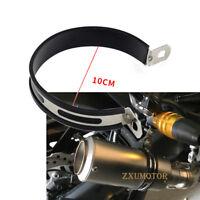Motorcycle Exhaust Muffler Silencer Can Hanger 10cm Hanging Clamp Mount Bracket