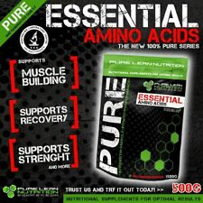 ESSENTIAL AMINO ACIDS EAA 500G * MUSCLE RECOVERY * BCAA * PROTEIN * BODYBUILDING