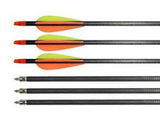 12x 31inch Archery Carbon Fiber Arrow Spine 400 for Hunting Compound Recurve Bow