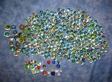 300 Alte Glasmurmeln Marble Swirl 50er-70er Jahre