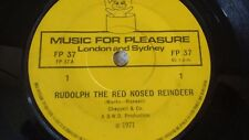 """VARIOUS RUDOLPH THE RED NOSED REINDEER OG 1971 SURPRISE SURPRISE 7"""" 45 FP 37"""