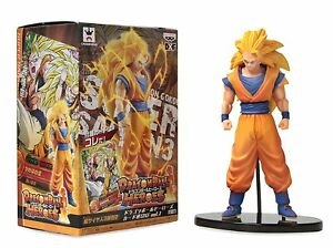 Figure Dragon Ball Z Heroes Super Saiyan 3 Son Gokou Dxf Vol. 1 Dbz BANPRESTO #1