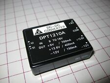 Delta Dpt1210A Isolated Dc-Dc Converter; 9~18V Input, +5V and +/- 12V Out