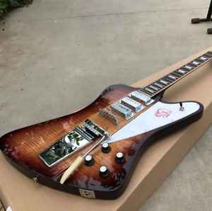 Custom Shop Firebird Tobacco burst With Tremolo Electric Guitar