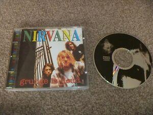 Nirvana - Grunge is Dead - Rare CD - Kurt Cobain- Rarities -  Live- Unofficial