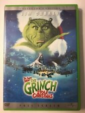 How the Grinch Stole Christmas (Dvd, 2001, Full Frame, Collector's Edition)