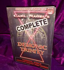 THE COMPLETE DEMONIC TRINITY Carl Nagel. Occult, Finbarr Satanism. Black Magick