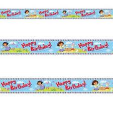 Dora the Explorer Party - 4.5m Foil Banner - Free Post Uk