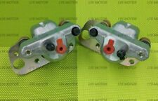 New Front Right Left Brake Calipers For 2003-13 Polaris Trail Boss 330 With Pads