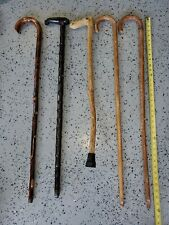 Lot Of Wooden Canes