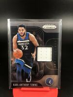 2019-20 Panini Prizm Karl-Anthony Towns Sensational Patch Timberwolves