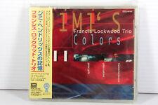 FRANCIS LOCKWOOD TRIO: JIMI'S COLORS (JIMI HENDRIX), JAPAN CD, SEALED, MEGA RARE
