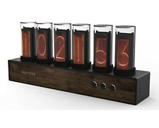 Retro Nixie Tube Inspired GIXIE CLOCK Electronic 6-Digit 5V USB Pre-Assembled