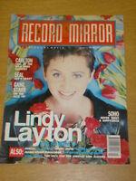 RECORD MIRROR 1990 JAN 19 LINDY LAYTON SEAL CARLTON