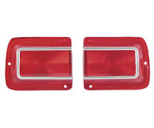 1965 Chevy Chevelle El Camino Tail Lamp Light Lenses Pair / 2 Pieces TL65AN
