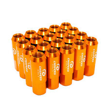 20PCS 14X1.5MM 60MM Extended Forged Aluminum Tuner Racing Lug Nut Gold