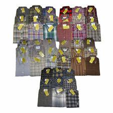 Herren Arbeits-Hemd Flanellhemd / Baumwollhemd langarm versch. Farben B-Ware