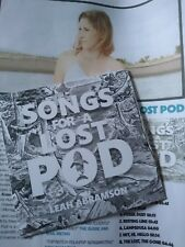 Leah Abramson, Songs For A Lost Pod cd review copy