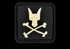 Black TAD Gear  PDW Ranger Eyes Dog & Crossed Bones Glow In The Dark  ITS Motus