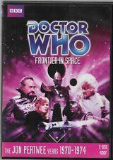 Doctor Who Jon Pertwee Frontier in Space Story 67 Dvd Region 1