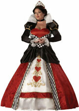 Morris Costumes Women's Long Sleeve Queen Hearts Complete Costume 2XL. IC5017XXL