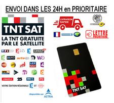CARTE TNTSAT Neuve Officielle HD V6 - Décodeur satellite ASTRA 19.2 - TNT SAT