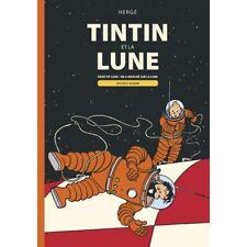 Álbum doble Casterman Tintin: Objectif Lune y On a marché sur la Lune (FR)