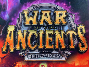 World of Warcraft WoW TCG War of the Ancients Set Rares/Epics CHOOSE YOUR CARDS!