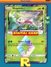 Shaymin Prism Star - for Pokemon TCG Online (ptcgo in Game Card)