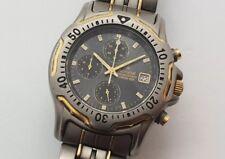 Accurist Men's Two Tone Titanium Chronograph Watch MB500