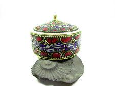B60 Beautiful Trinket Storage box Jewelry Brass Decorative Collectible gift
