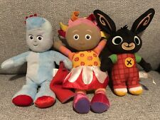In the Night Garden Iggle Piggle & Upsy Daisy ( Talking )  & Bing Soft Toys