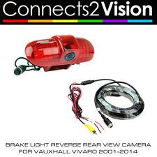 C2 CAM-VX8 Brake Light Reverse Rear View Camera for Vauxhall Vivaro 2001-2014 BN