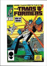 "TRANSFORMERS #34  [1988 FN-VF]  ""MAN OF IRON"" pt.3"