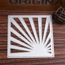 Ray Frame Metal Cutting Dies Stencils Scrapbook Album Emboss Card DIY Craft Kit