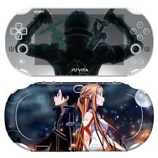 Skin Decal Sticker For PS Vita Slim PCH-2000 Series Consoles SAO #01 + Free Gift