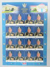 Malaysia 2015 Kemahkotaan DYMM Sultan Ibrahim Sultan Johor RM1.00 Stamp Sheetlet