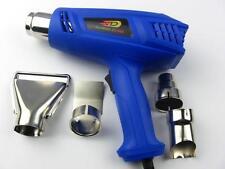 DURABLEMAX Blue Heat Gun Hot Air Gun Dual Temperature 1500W+4 Nozzles Power Tool