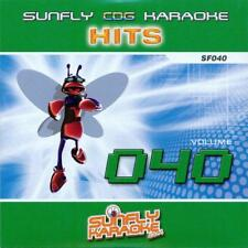 Sunfly Karaoke Hits 040 (CDG) Official Sunfly - Free UK Post + Same Day Dispatch