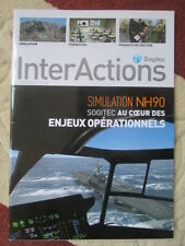 REVUE SOGITEC INTERACTIONS 26 SIMULATION NH90 INDE MIRAGE 2000 RAFALE FALCON