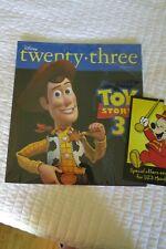 Disney Twenty-Three 23 Magazine Summer 2010 Toy Story 3 Woody New Rare