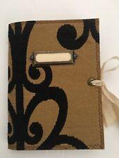 Junk Journal, Handmade Naked Journal, Upholstery Sample Cover, NEW