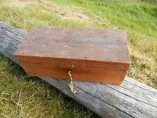 WOODEN BOX  ARMY NAVY  WIFE  William Leslie de la Poer Beresford VICTORIA CROSS