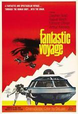 FANTASTIC VOYAGE Movie POSTER 27x40 B Stephen Boyd Edmond O'Brien Raquel Welch
