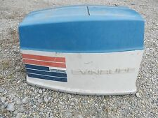 65 HP Johnson Evinrude outboard hood cowl top cover