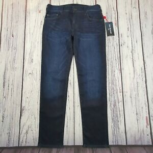 Men's True Religion Jeans 32 Waist 32 Leg Rocco Relaxed Skinny Fit Stretch £139