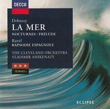 DEBUSSY: LA MER - THE CLEVELAND ORCHESTRA, VLADIMIR ASHKENAZY / CD - TOP-ZUSTAND